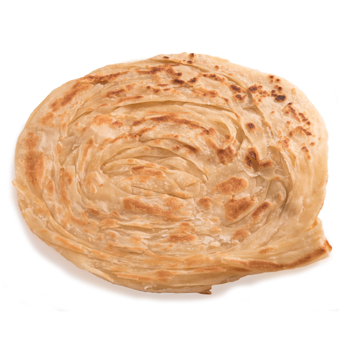 in Veg Parotta for Softness and Crispness With Browning